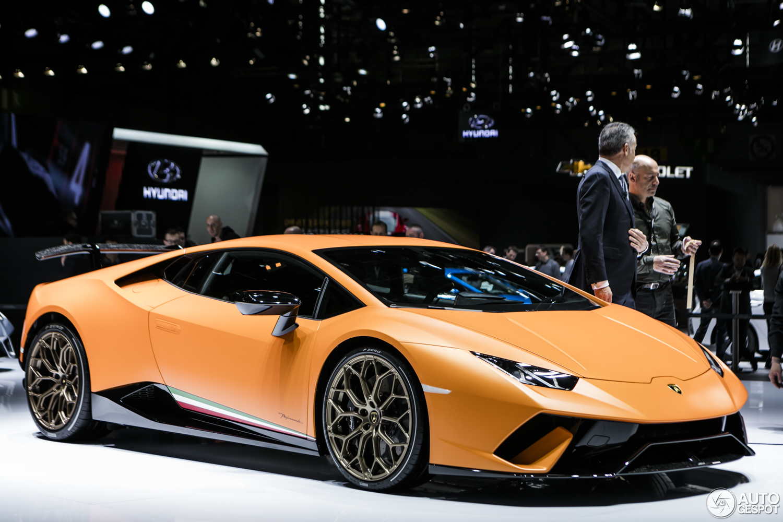 Genève 2017: Lamborghini Huracán Performante