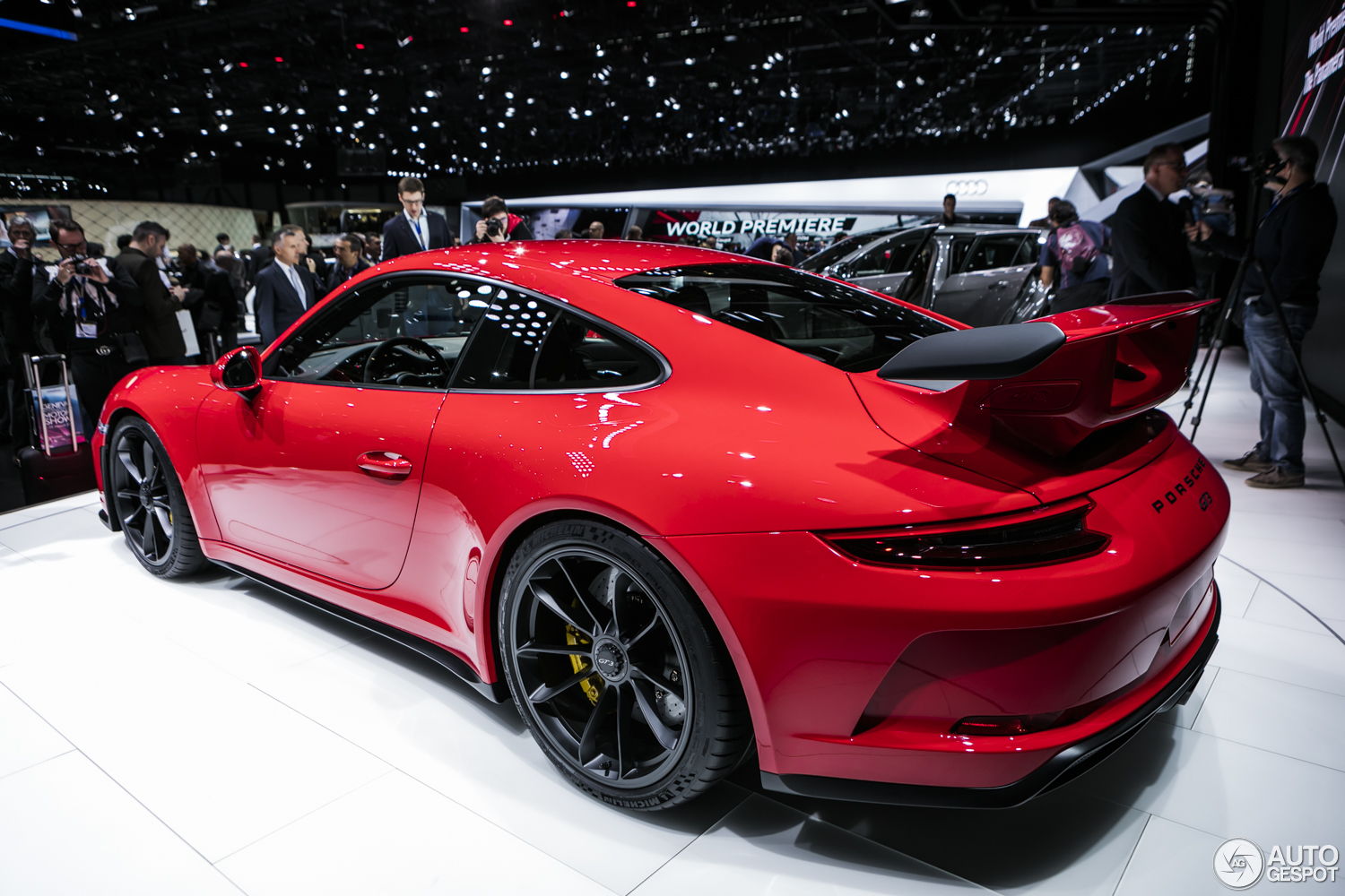 geneva 2017 porsche 991 gt3 mkii. Black Bedroom Furniture Sets. Home Design Ideas