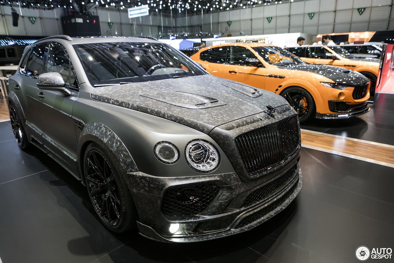Bentley Bentayga For Sale >> Geneva 2017: Mansory Bentayga