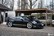 Heerlijke samengestelde Porsche 991 GT3 Touring gespot
