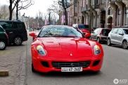 Ferrari 599 GTB uit Kuweit, in Amsterdam