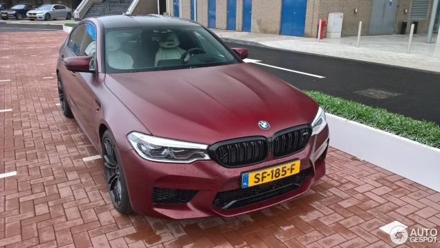 Geland in Nederland, BMW M5 F90