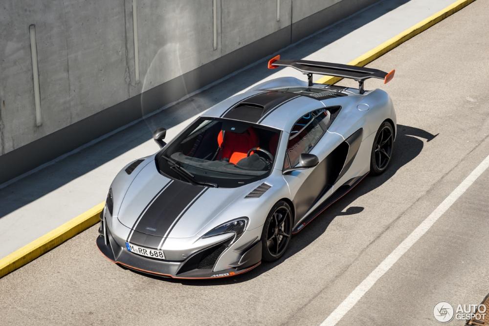 First spot McLaren MSO R