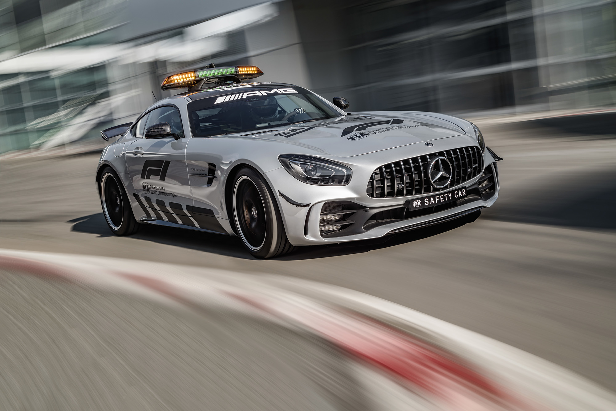 Safety Car voor Formule 1 2018 onthuld