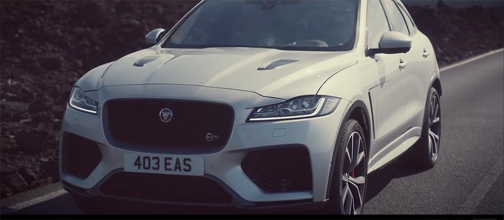 Zo lekker klinkt de Jaguar F-PACE SVR