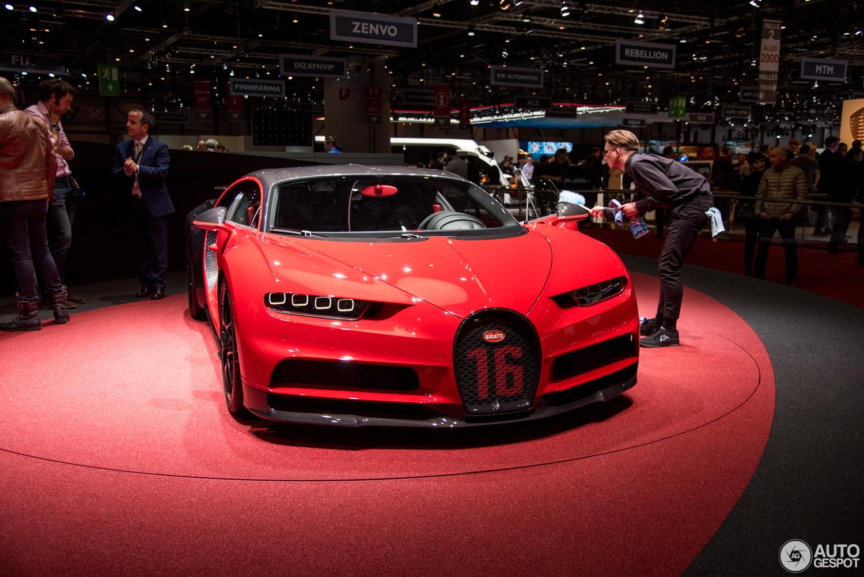 Geneva 2018 Bugatti Chiron Sport