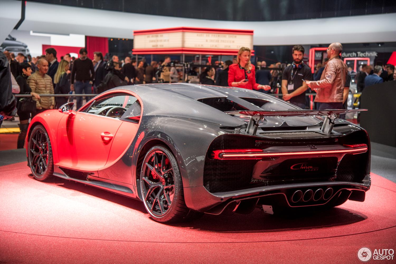 Geneva 2018: Bugatti Chiron Sport