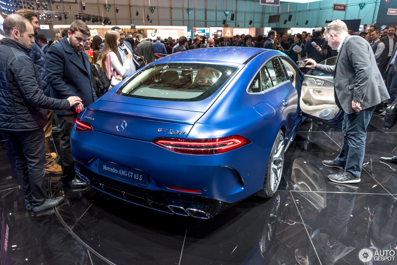 Genève 2018: Mercedes-AMG GT Coupé