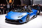 Genève 2018: Lamborghini Huracán LP640-4 Performante Spyder