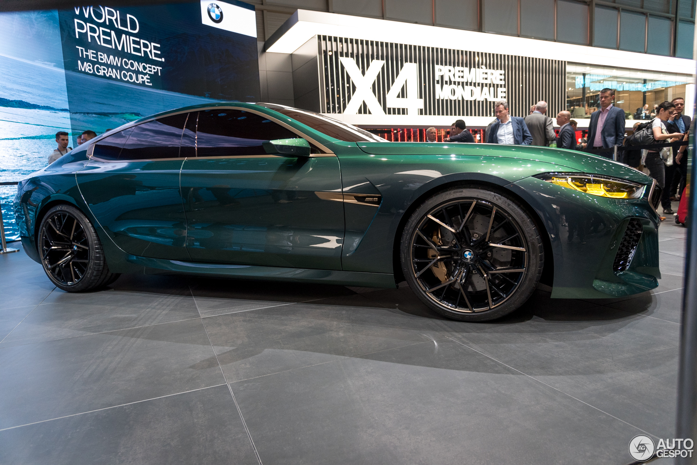 Geneva 2018 Bmw M8 Gran Coup 233 Concept
