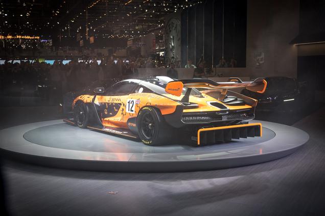 Genève 2018: McLaren Senna GTR