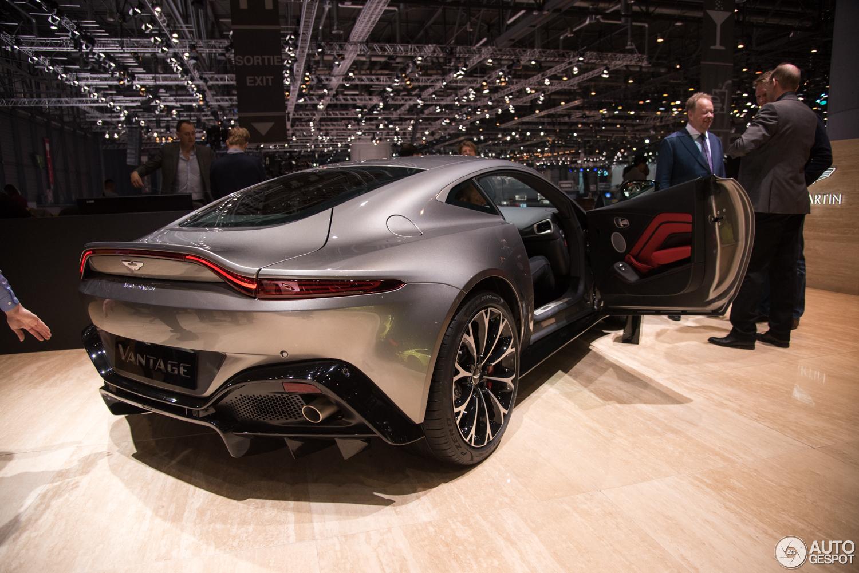 Genève 2018: Aston Martin Vantage