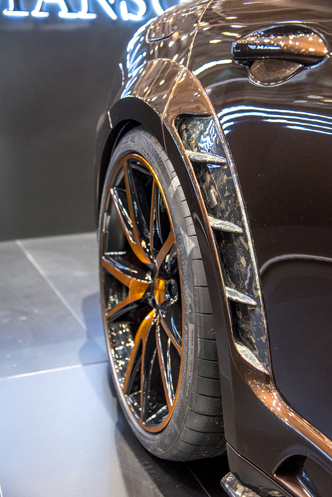 Genève 2018: Mansory Porsche Panamera Sport Turismo