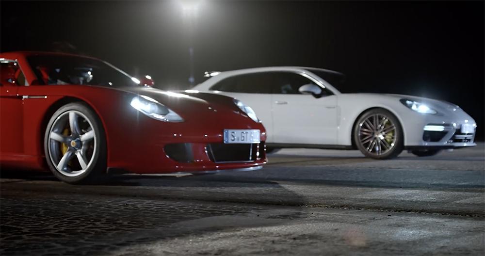 Filmpje: Porsche laat hun snelste vijf auto's zien