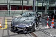 De eerste gespotte Ferrari Portofino is helaas grijs