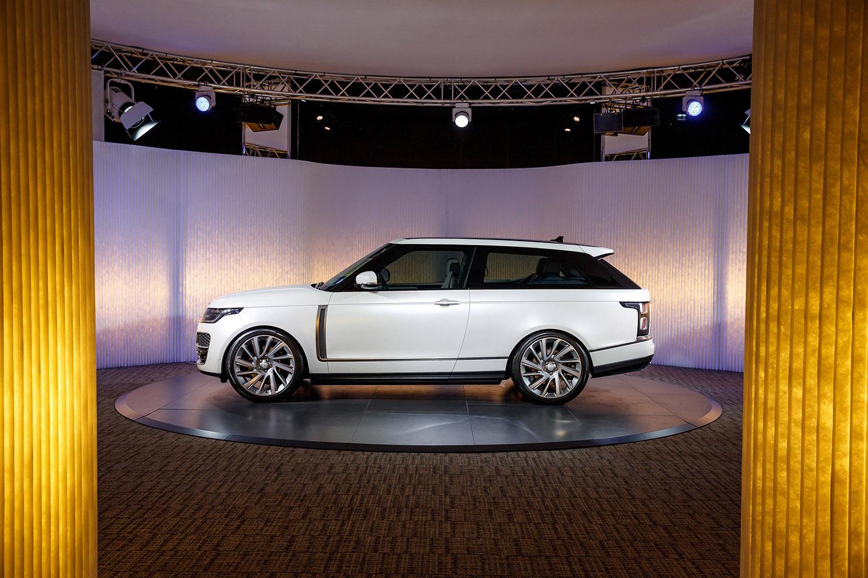 Land Rover trekt de stekker uit Range Rover SV Coupé