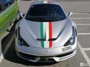 Stapje terug in de tijd met de Ferrari 458 Speciale A