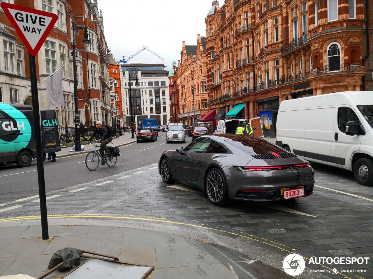 Porsche 992 Carrera gaat de straten overnemen