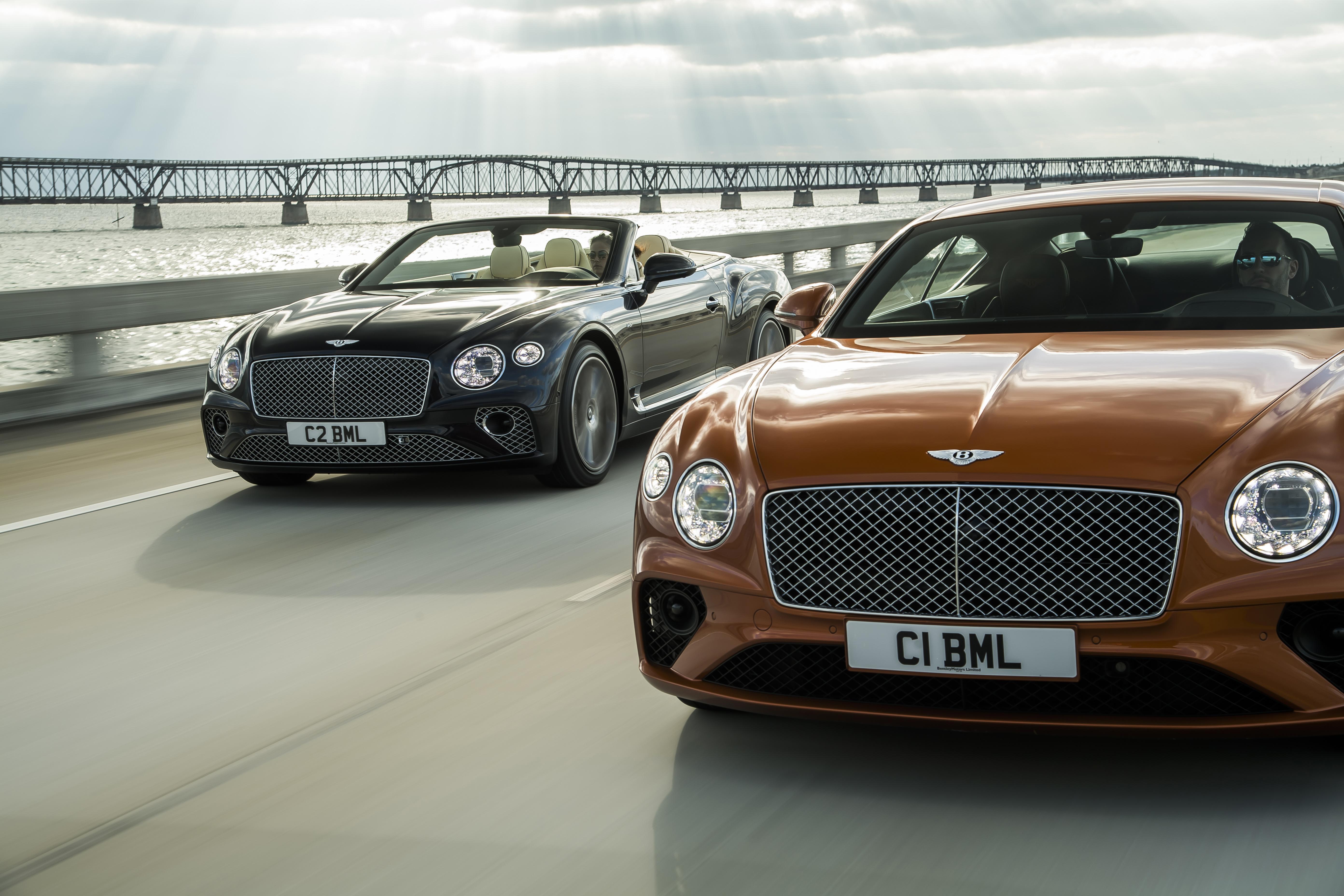 Bentley presenteert: Continental GT en GTC V8!
