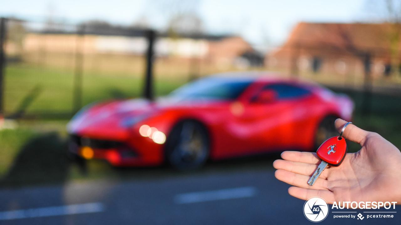 Spot van de dag: Ferrari….?