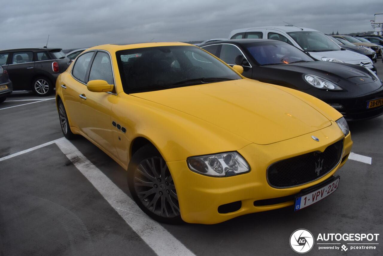 Ja of nee, geel op een Maserati Quattroporte?
