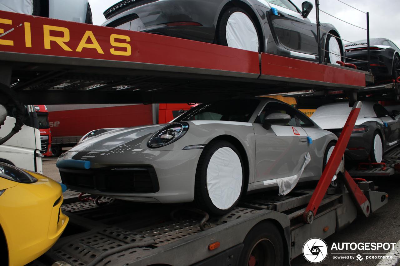 Nieuwe 911'en nu ook onderweg naar Belgische garages