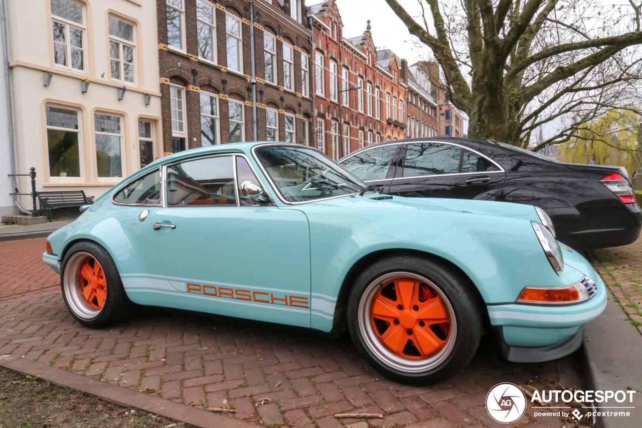 Spot van de dag: Restomod in de vorm van de Von Schmidt Porsche 911