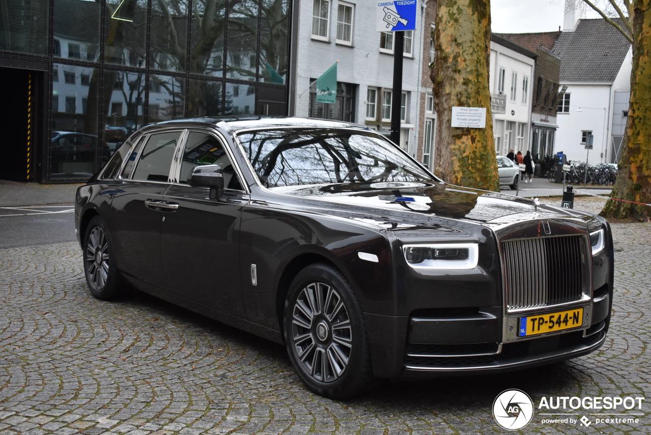 Spot van de dag: Rolls-Royce Phantom VIII