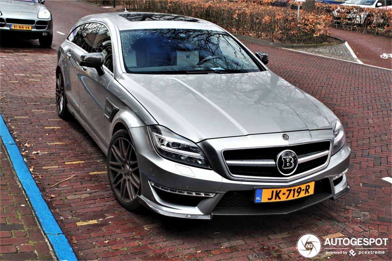 Spot van de dag: Mercedes-Benz Brabus CLS B63S-730 Shooting Brake