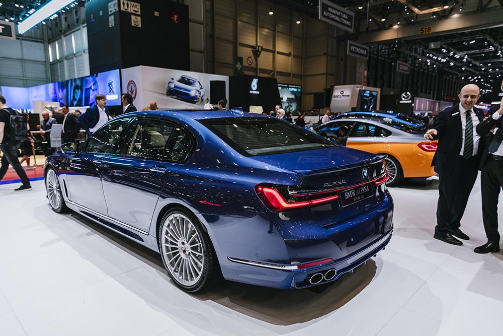 2019 日内瓦车展:Alpina B7