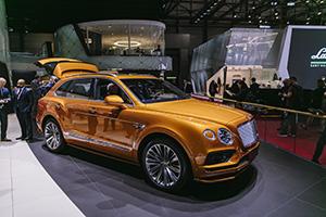 Genève 2019: Bentley Bentayga Speed