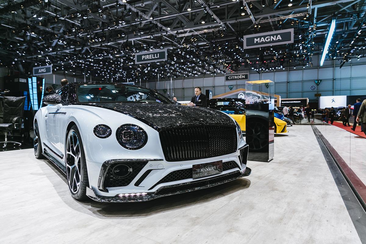 Genève 2019: Mansory Bentley Continental GT