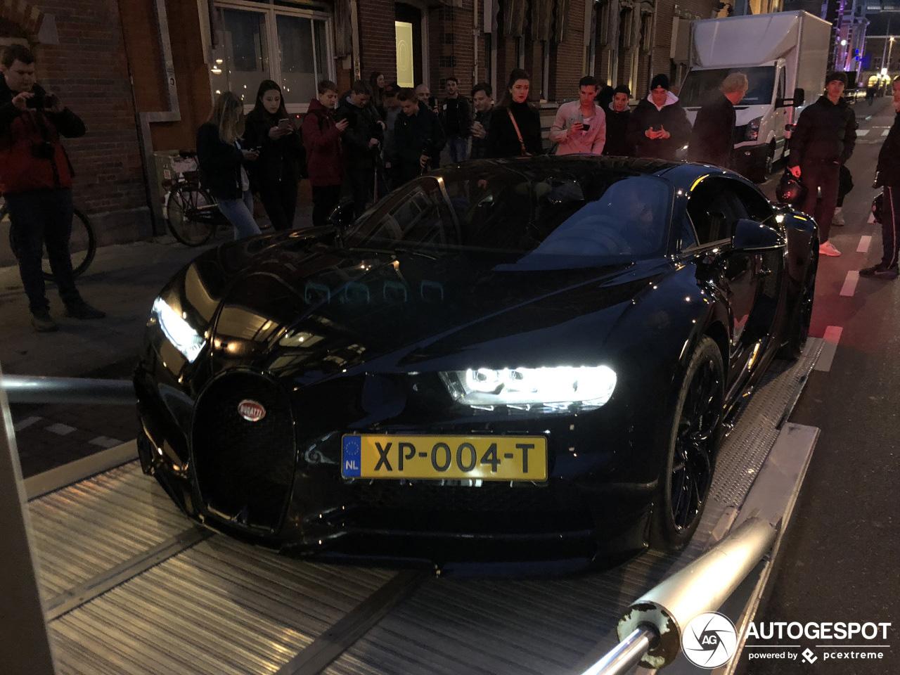 Spot van de dag: Bugatti Chiron van thehomelessguy