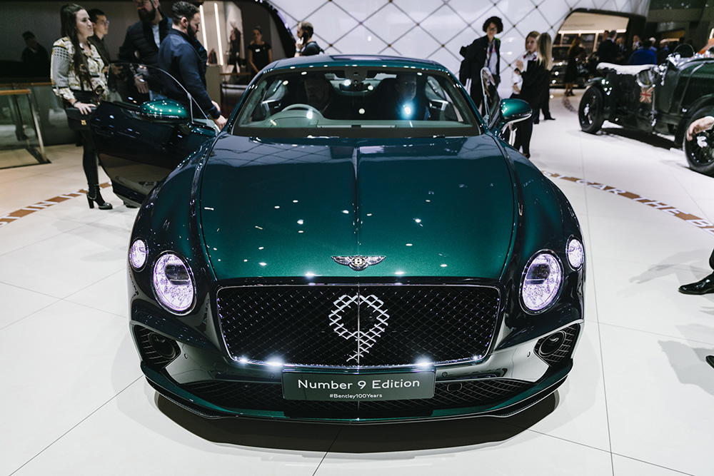 Genève 2019: Bentley Continental GT Number 9 Edition