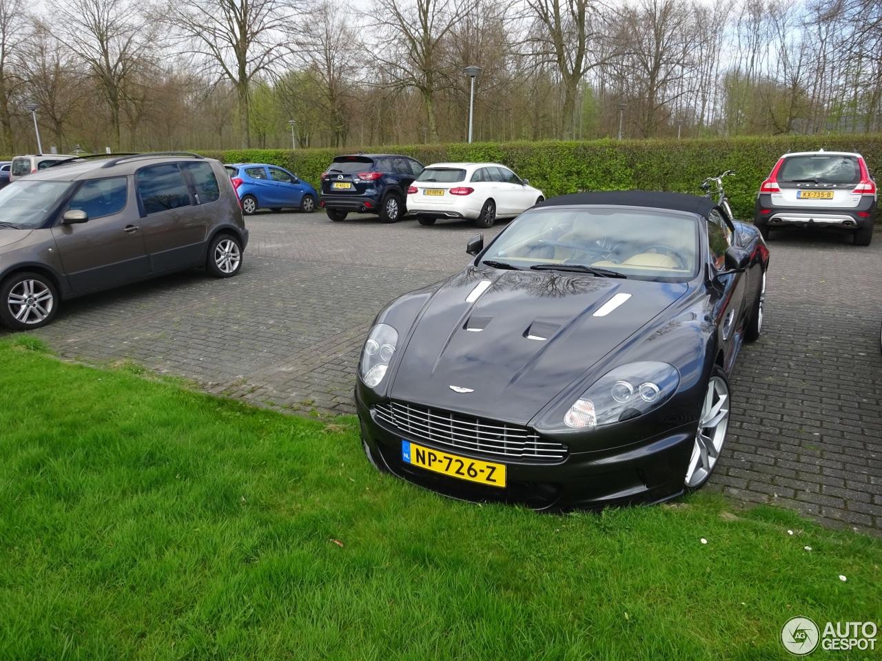 Deze Aston Martin DBS heeft een merkwaardige historie