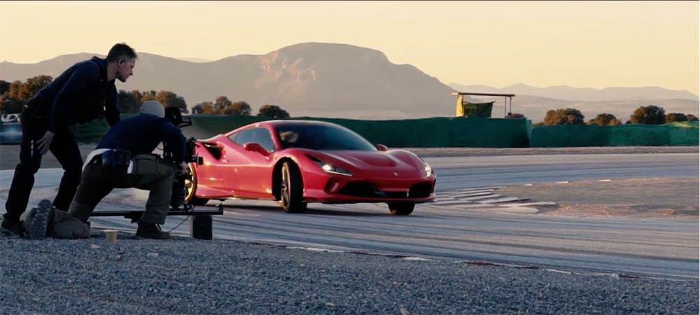 Filmpje: behind the scenes van de Ferrari F8 tributo