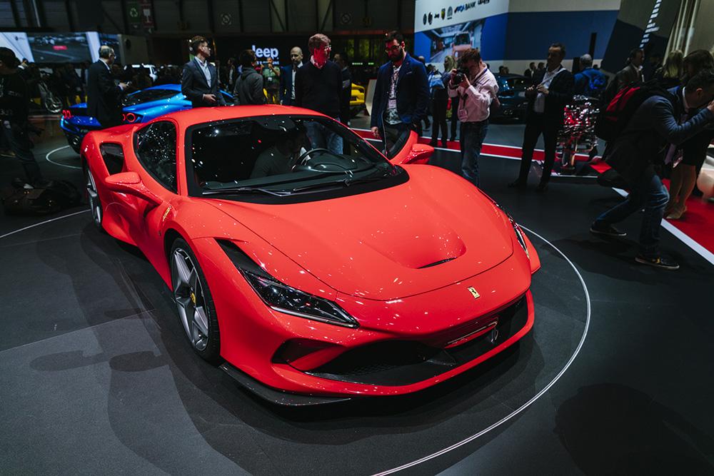 Geneva 2019: Ferrari F8 Tributo