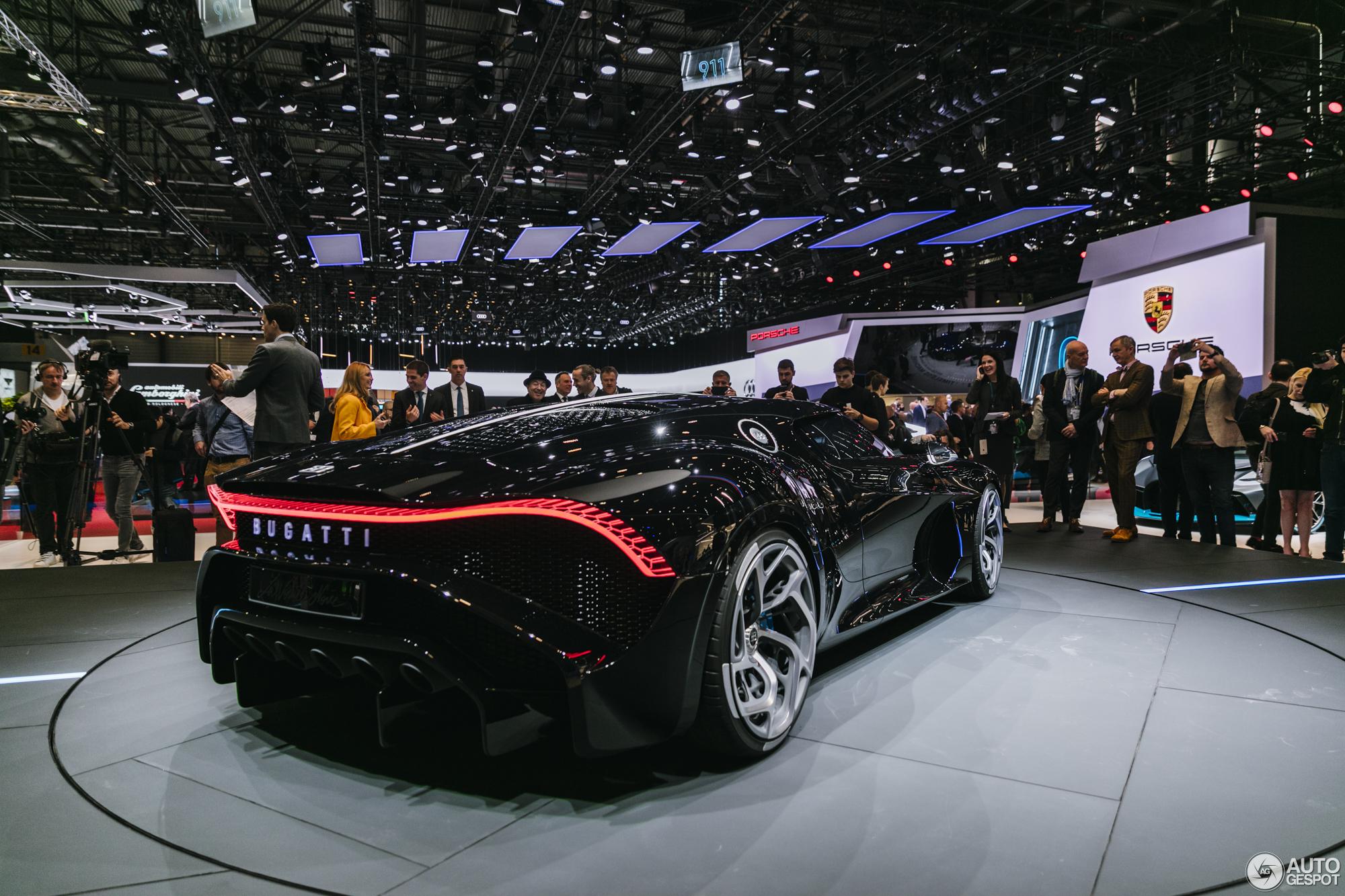 Download 2019 Bugatti La Voiture Noire Luxury Car: Geneva 2019: Bugatti La Voiture Noire