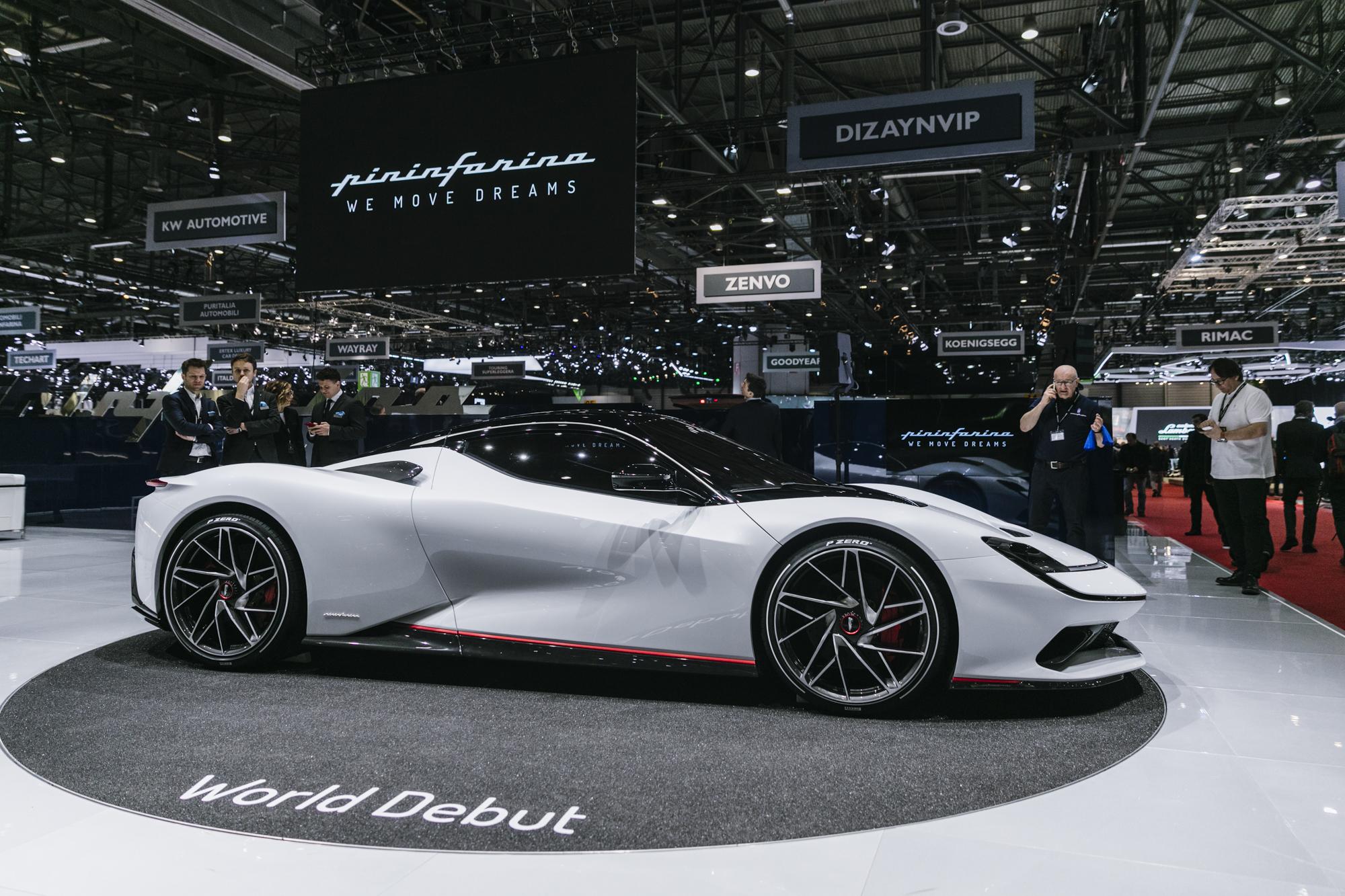 Geneva 2019: Pininfarina Battista
