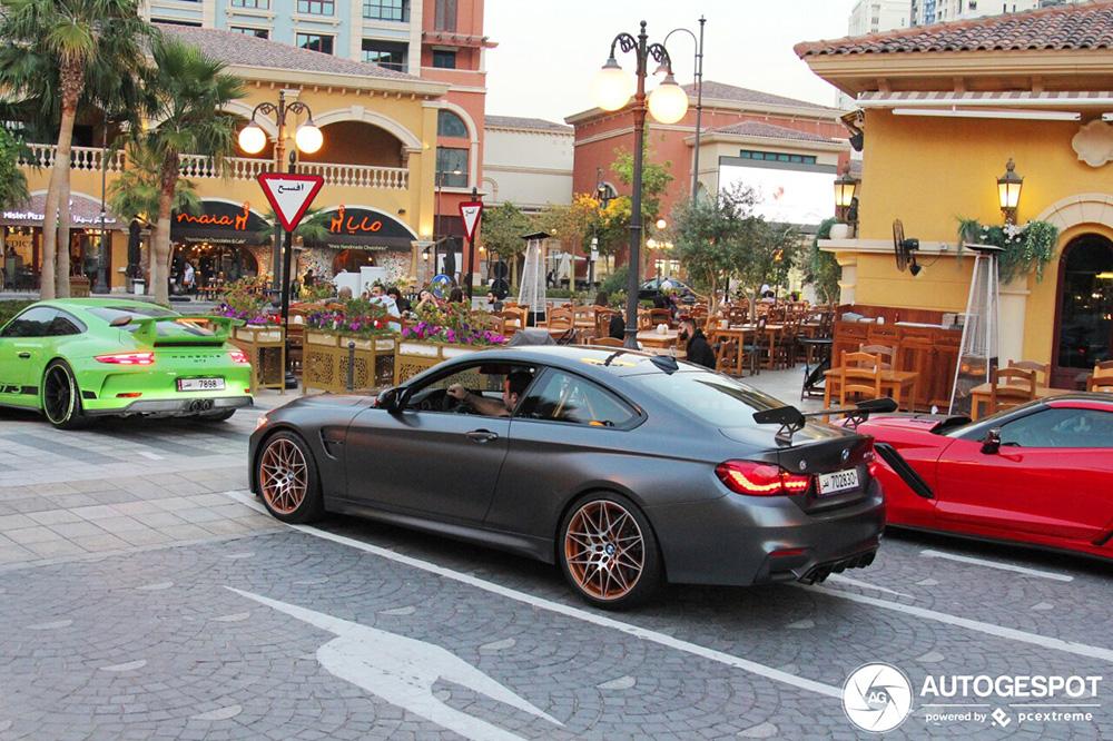 Spoiler alert: BMW M4 GTS & Porsche 991 GT3 MkII gespot