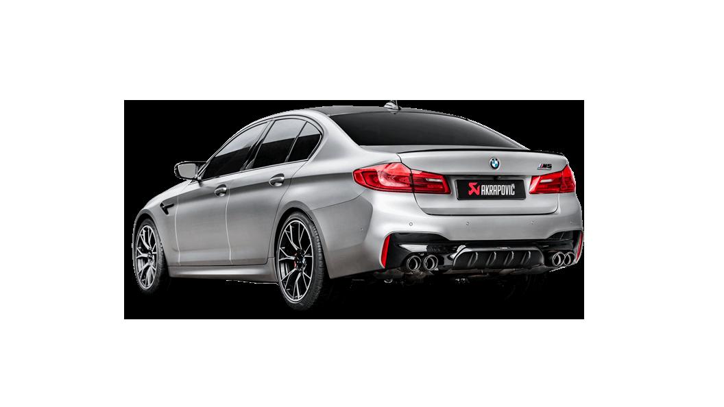 Akrapovič Exhaust System voor de BMW M5 nu beschikbaar