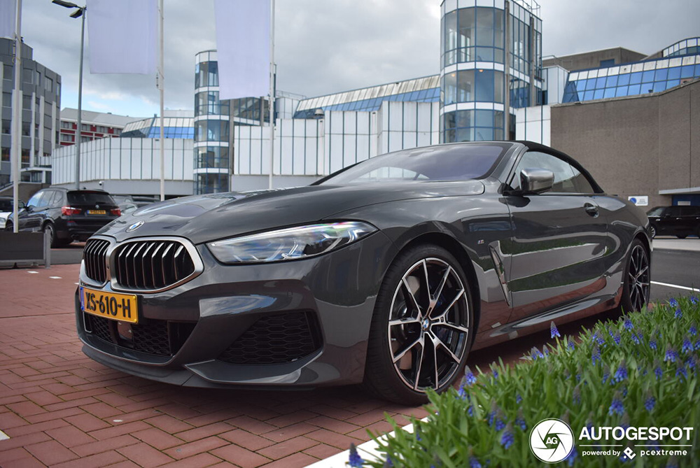 Primeur gespot: BMW M850i xDrive Cabriolet