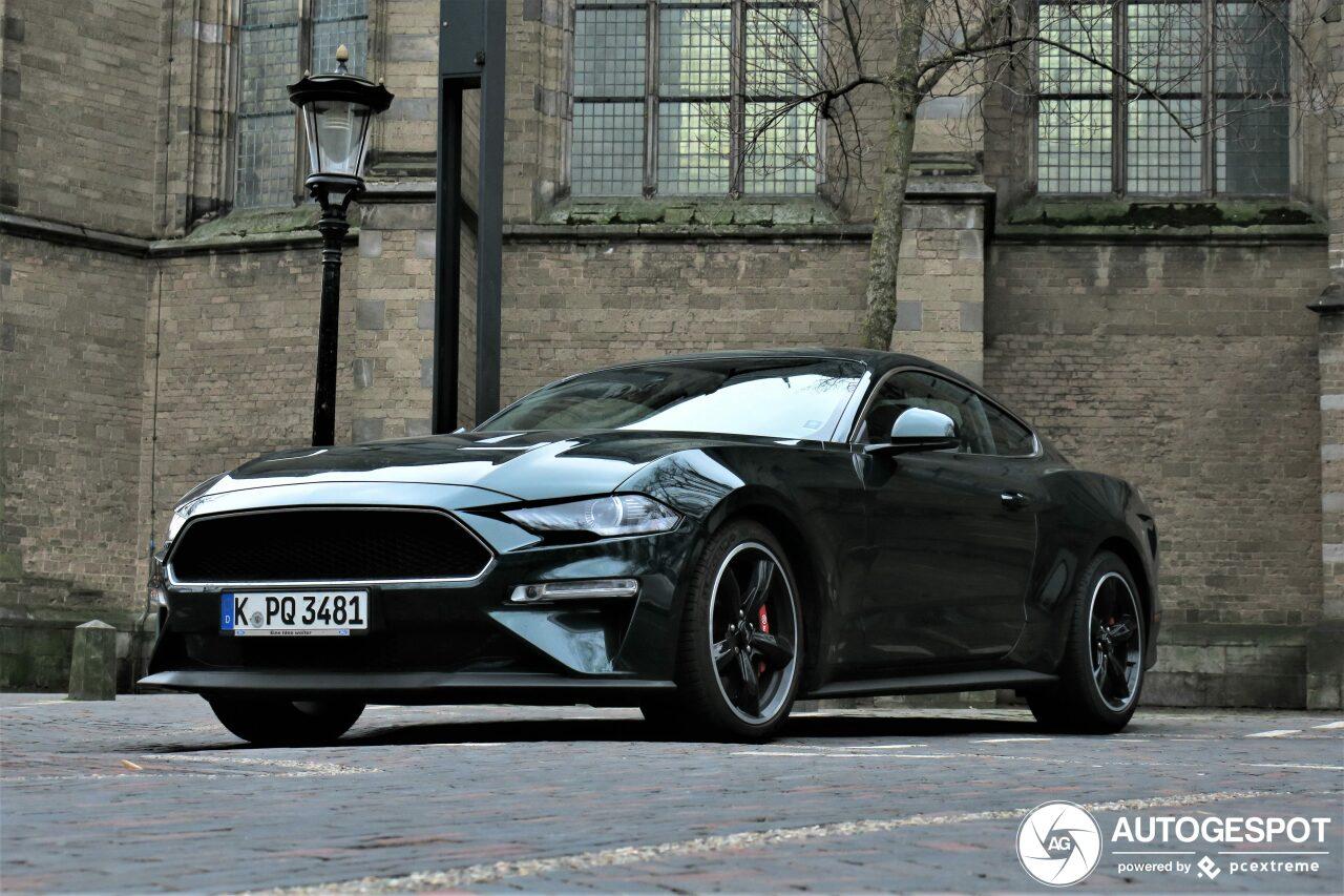 In deze Ford Mustang Bullit voel je je Steve McQueen
