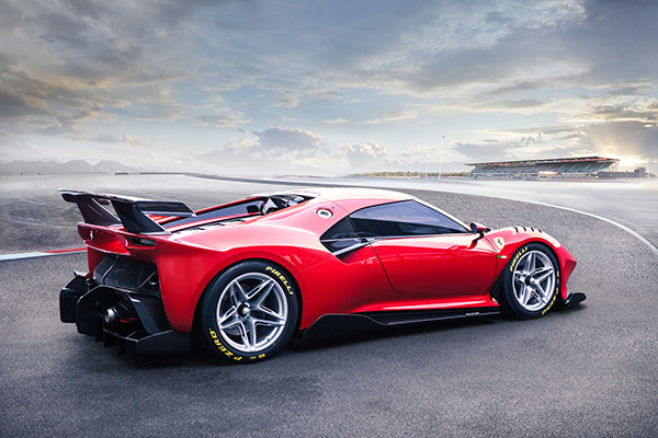 Ferrari P80/C is ultieme circuitspeeltje