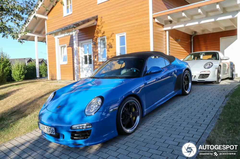 Gelimiteerde Porsche combo gespot in Drees