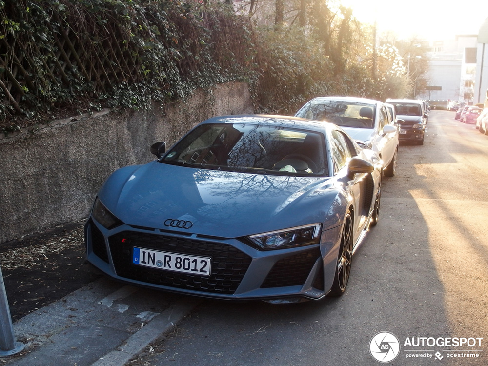 Primeur gespot: Audi R8 V10 Performance 2019