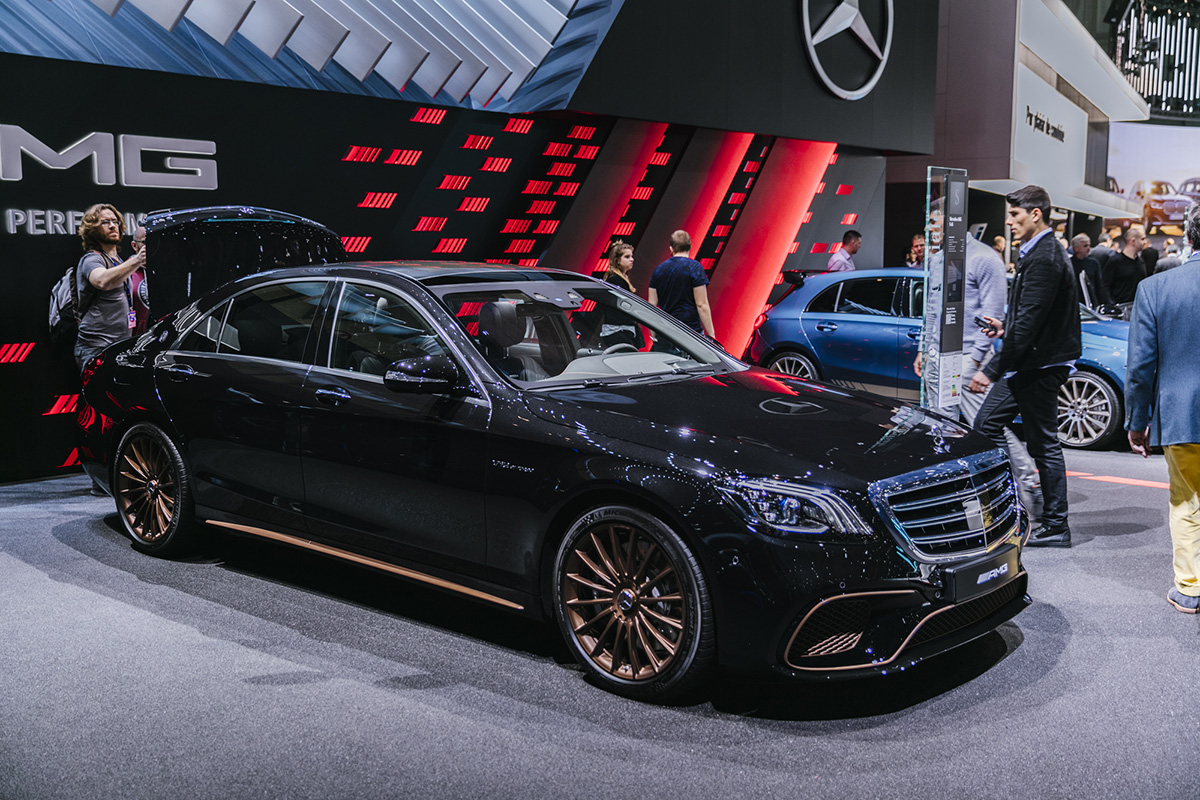 Genève 2019: Mercedes-AMG S 65 Final Edition
