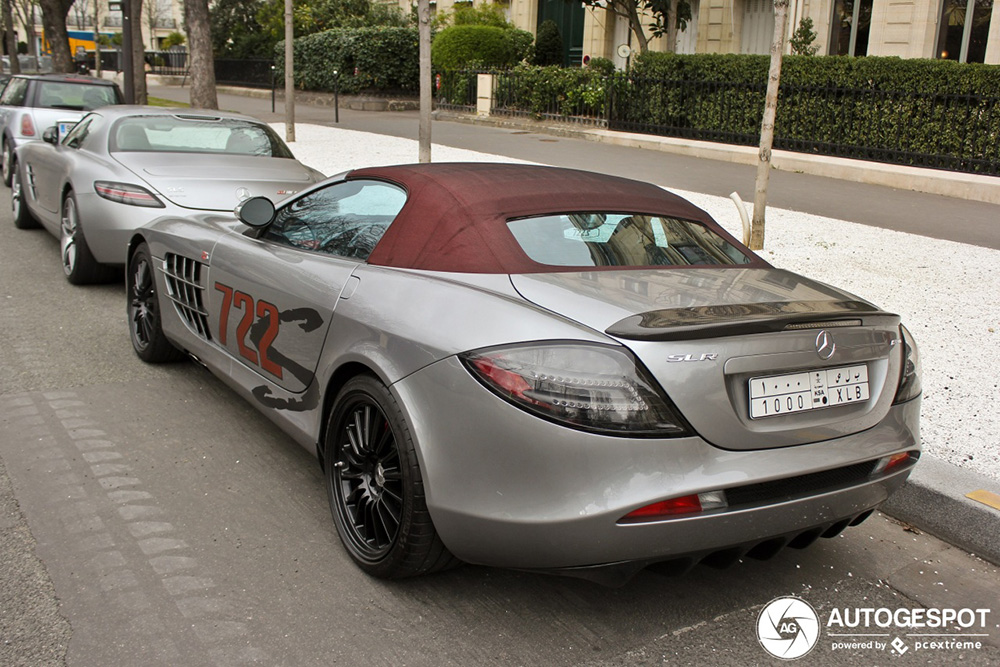 Mercedes-Benz SLR McLaren 722 S Roadster blijft tijdloos