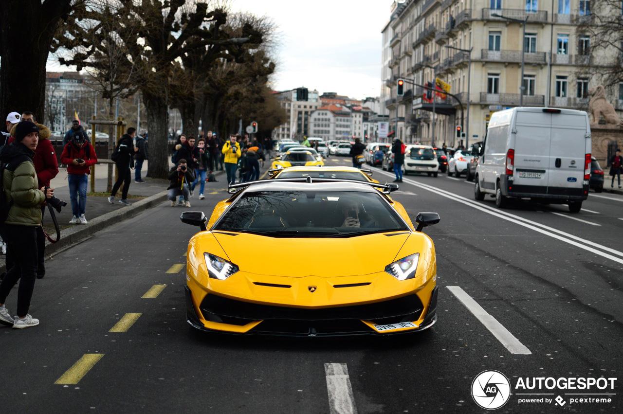 Mega combo veroorzaakt chaos in Genève