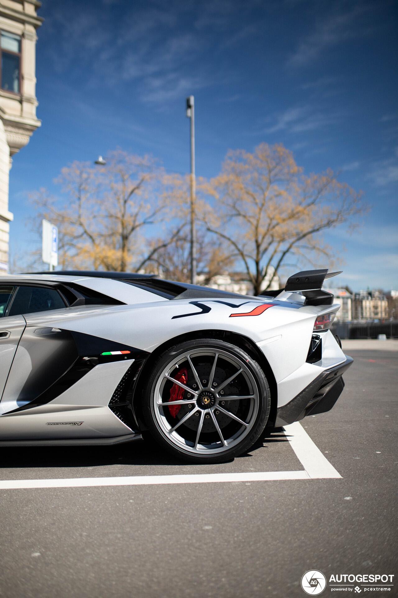 Lamborghini Aventador SVJ wil je niet in het zilver hebben